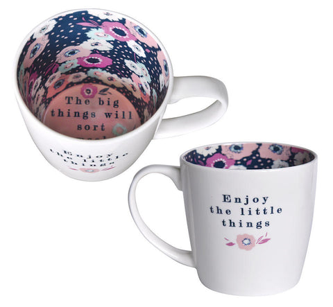 ENJOY THE LITTLE THINGS Inside Out Mug Type 139