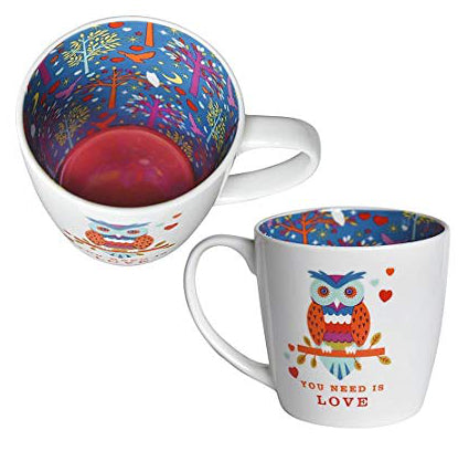 OWL YOU NEED IS LOVE Inside Out Mug Type 142