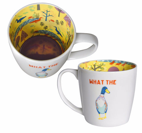 WHAT THE DUCK Inside Out Mug Type 143