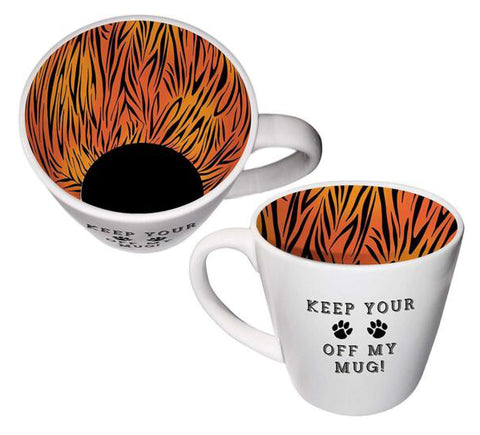KEEP YOUR PAWS OFF Inside Out Mug Type 151
