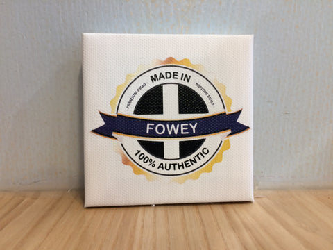 Made in Fowey Canvas Fridge Magnet
