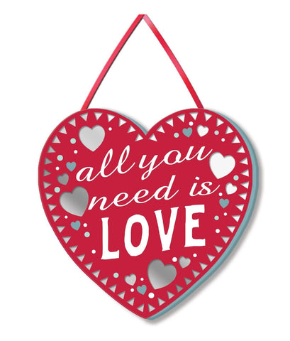 ALL YOU NEED IS LOVE Mirror Plaque Type 901