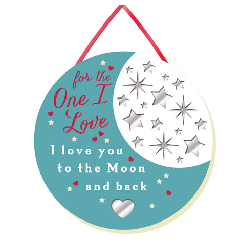 FOR THE ONE I LOVE Mirror Plaque Type 930