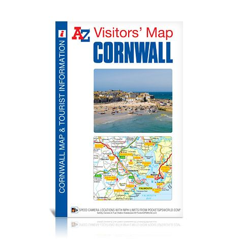 Cornwall A-Z Visitors' Map
