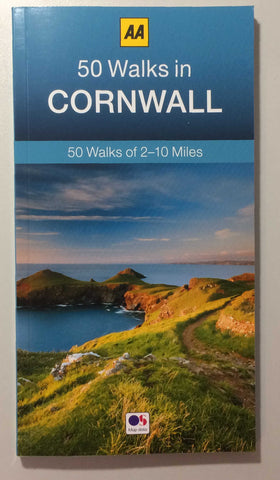 50 Walks in Cornwall (AA 50 Walks Series)