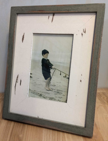 Beach Hut Photoframe 7380