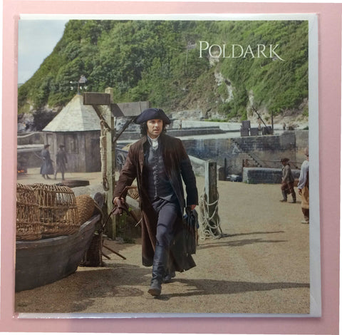 Poldark Greetings Card Type GP011