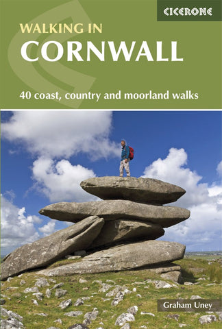 Walking in Cornwall - 40 coast, country & moorland walks
