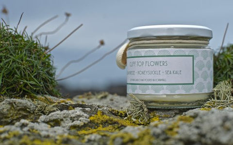 Cliff Top Flowers Scented Candle