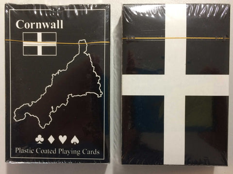 Cornwall Playing Cards with St Piran's Flag