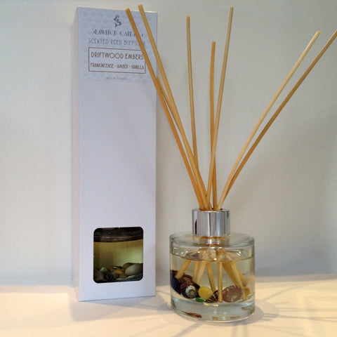 Driftwood Embers Scented Reed Diffuser