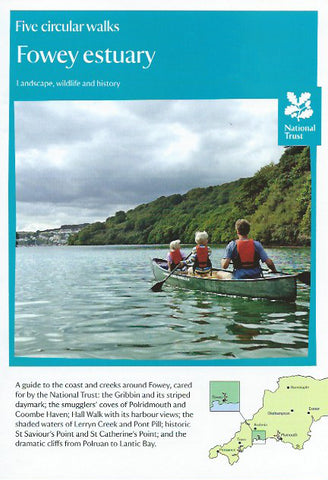 Five Circular Walks in The Fowey Estuary by The National Trust