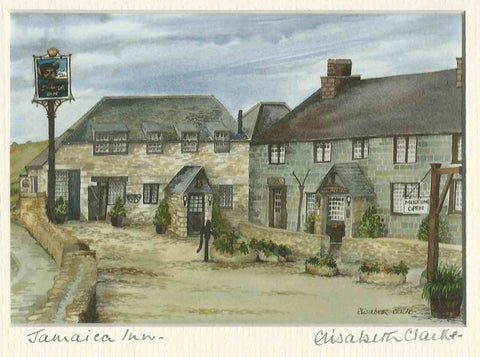 Jamaica Inn - Cornish Landscape - print