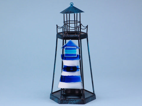 Metal Lighthouse Tealight holder - type 17388