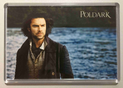 Poldark by the sea Acrylic Fridge Magnet