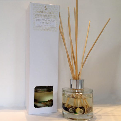 Shell Cove Woods Autumn Scented Reed Diffuser