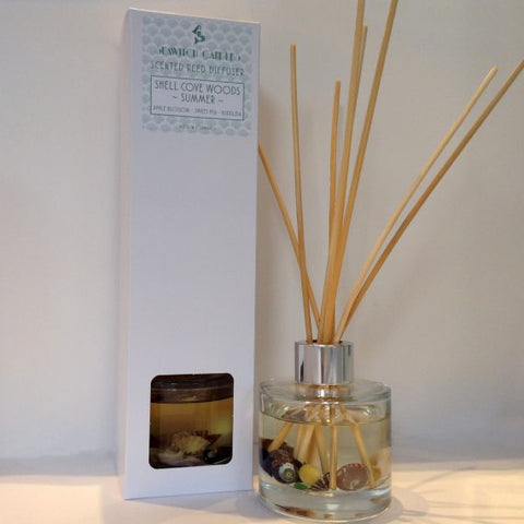 Shell Cove Woods Summer Scented Reed Diffuser