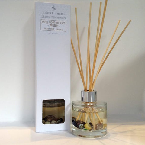 Shell Cove Woods Winter Scented Reed Diffuser