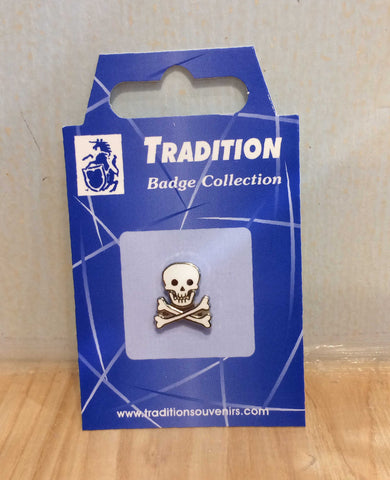Skull & Crossbones Pin Badge