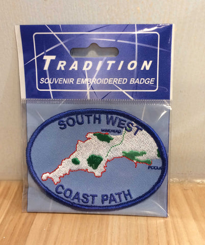 South West Coast Path Sew On Badge