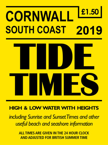 Tide Times 2019 - Cornish Coast (based on Falmouth)