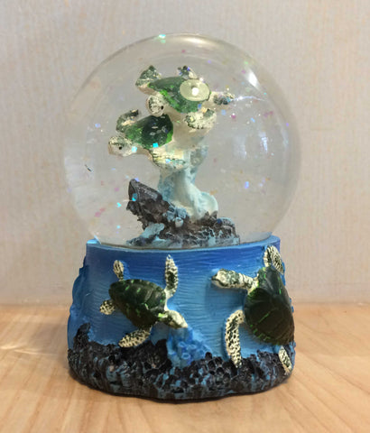 Glitter Globe - Sea Turtles