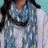 Whale Print Fashion Scarf