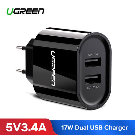 Chargeur USB 2 ports 3.4A 17 W