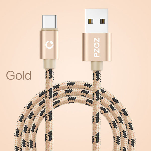 Câble USB Type C gold