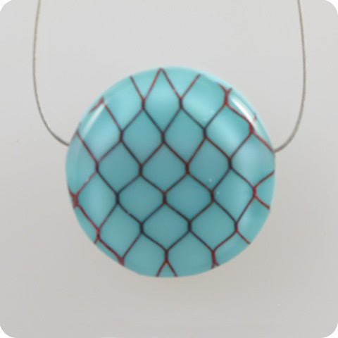 Mini Fishnet - ice blue