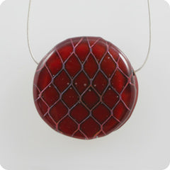 Mini Fishnet - deep red