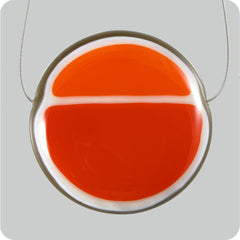 Split Yolk - Burnt Orange, Cardinal