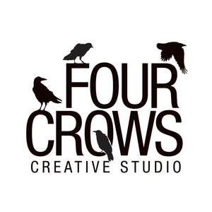 Four Crows Creative Studio Logo