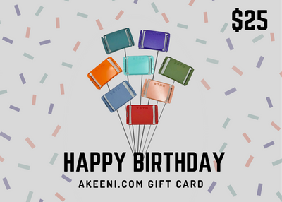 Birthday Gift Card - AKEENi