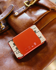 STOW Wallet - Crimson Red - AKEENi