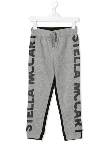STELLA MCCARTNEY KIDS two-tone tracksuit bottoms