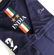 Load image into Gallery viewer, India Iconic Navy Polo Shirt