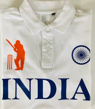 Load image into Gallery viewer, India Iconic White Polo Shirt