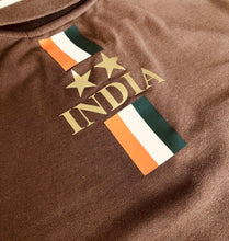 Load image into Gallery viewer, India Iconic Chocolate Polo Shirt Limited Edition