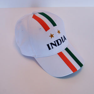 India Signature Tricolour Cricket Cap