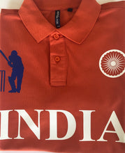 Load image into Gallery viewer, India Iconic Orange Polo Shirt Limited Edition