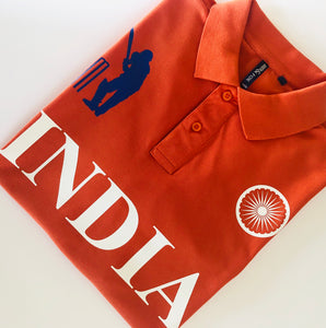 India Iconic Orange Polo Shirt Limited Edition