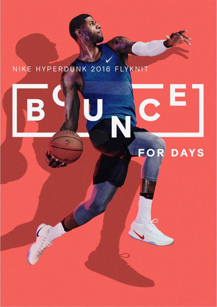 Nike Bounce to this Advertising Campaign: By Bureau Borsche