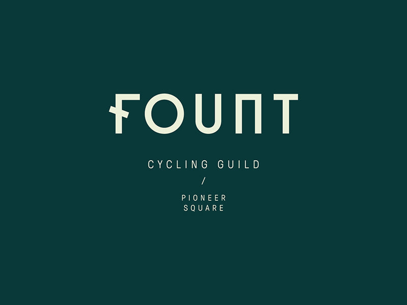 Fount Logo Design : By Amy Wilson