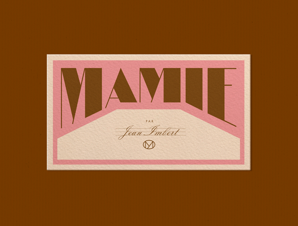 Logo Design for Mamie | By Violanine & Jeremy