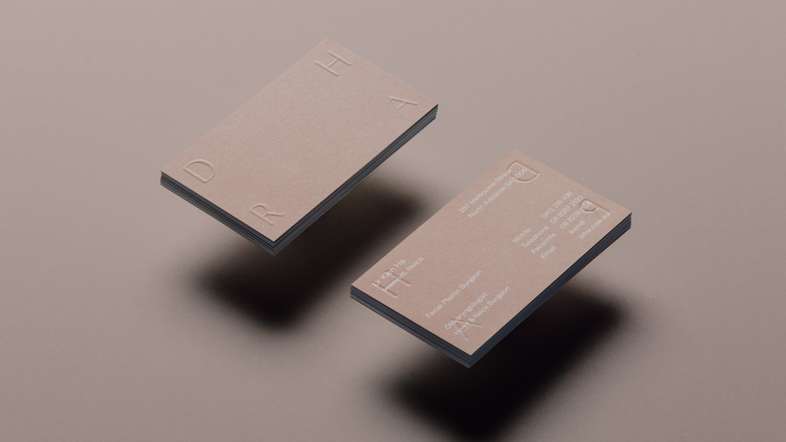 Dr Ha Brand Design | By Studio Simple
