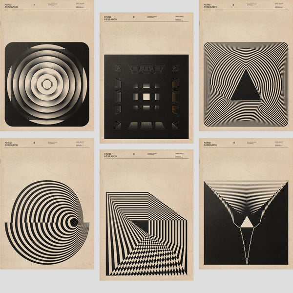 Geometric Graphic Design | By Faith Hardel