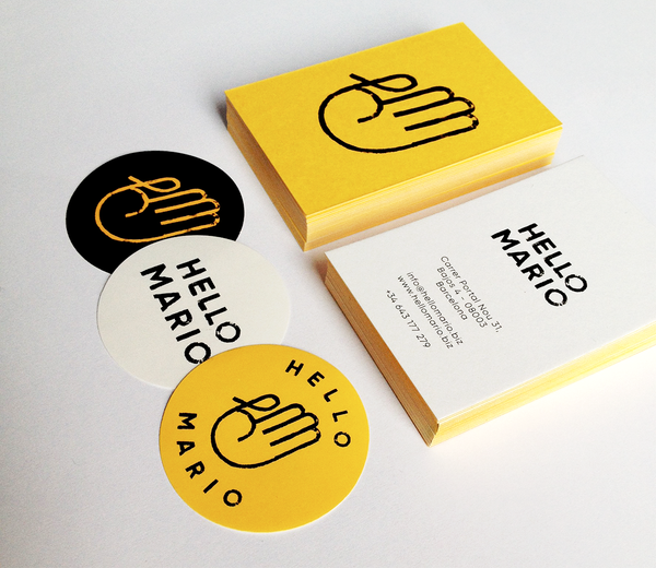 Branding & Design for Hello Mario