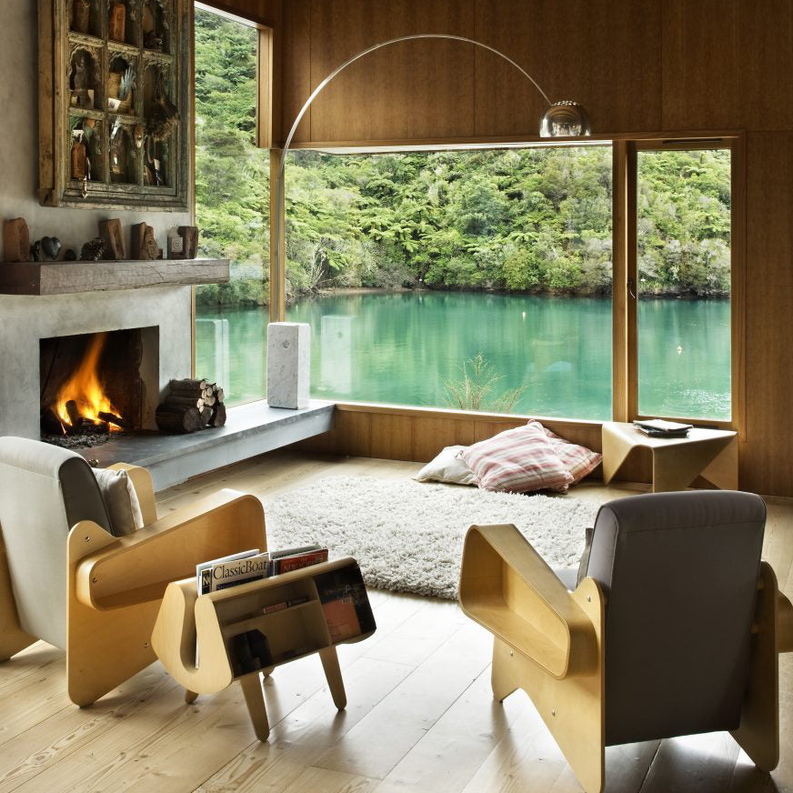 Mid Century Modern | Waterfall Bay House
