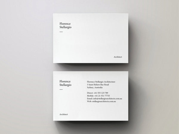 Minimal Business Card - Editable Indesign Template